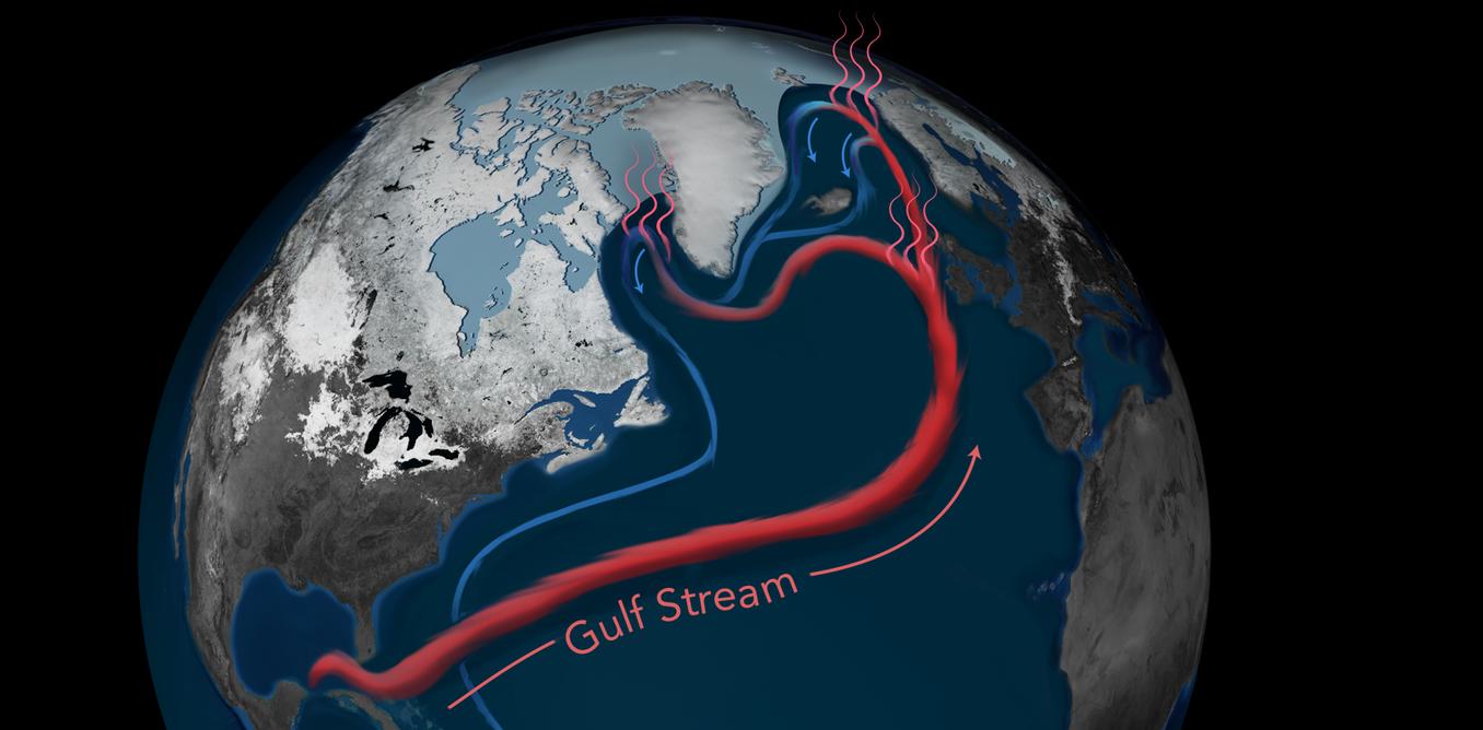 北大西洋暖流持續減緩   驅動因素包括人為碳排放造成的氣候變遷