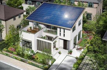 房屋政策引導下 日本太陽能板成零耗能住宅標配